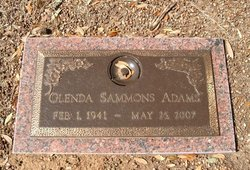 Glenda Kay <I>Sammons</I> Adams