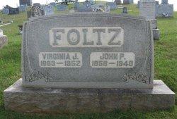 """Virginia Jackson """"Gennie"""" <I>Roudabush</I> Foltz"""