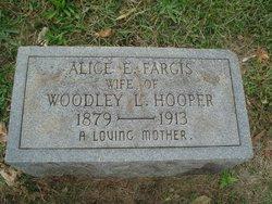 Alice E. <I>Fargis</I> Hooper