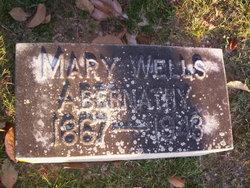 Mary <I>Wells</I> Abernathy