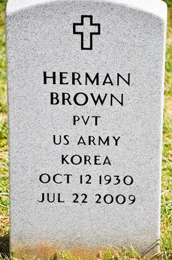Pvt Herman Brown