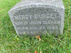 Mercy <I>Burgett</I> Mahan