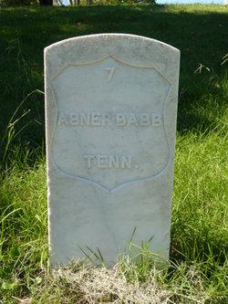 Abner Babb, Jr