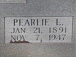 Pearlie Lee <I>Sasnett</I> Broxton