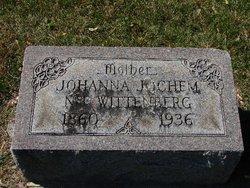Johanna <I>Wittenberg</I> Jochem