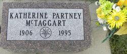 Katherine <I>Partney</I> McTaggart