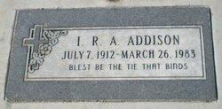 I. R. A. Addison