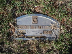 D. E. Sharp