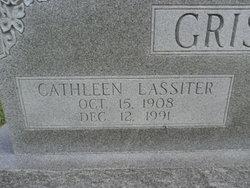 Cathleen <I>Lassiter</I> Grissom