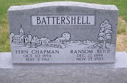 Fern <I>Chapman</I> Battershell