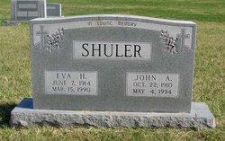 """John Arthur """"Johnnie"""" Shuler"""