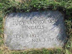 Lucy Cornell <I>Van Hoesen</I> Ingalls