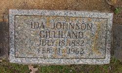 Ida <I>Johnson</I> Gilliland
