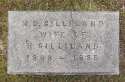 """Margaret C. """"Mug"""" <I>Sherrill</I> Gilliland"""