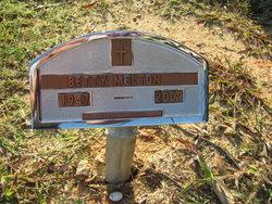Betty Jean <I>Keener</I> Melton