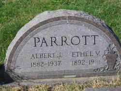 "Albert James ""Bert"" Parrott"