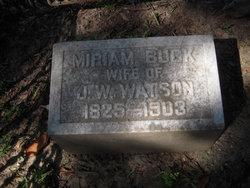 Miriam <I>Buck</I> Watson