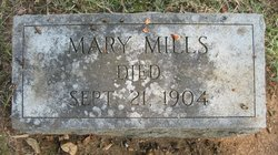 """Mary """"Polly"""" <I>Gallimore</I> Mills"""