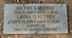 Milton S McEwen