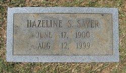 Hazeline S <I>Stephens</I> Sayer