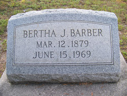 Bertha <I>Jones</I> Barber