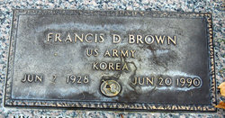Francis D Brown