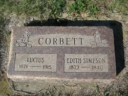 Eva Edith <I>Randolph</I> Corbett Simpson