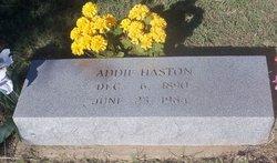 Addie Haston