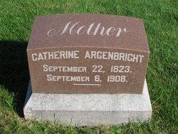 Catherine <I>Briles</I> Argenbright