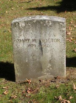 Mary Sherwood <I>Hedrick</I> Proctor