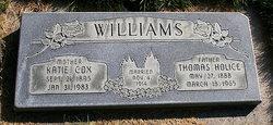Katie <I>Cox</I> Williams