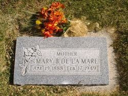 Mary Bankhead De La Mare