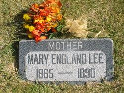 Mary Eliza K England Lee