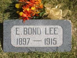 Edwin Bond Lee