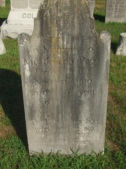 Joseph Page Jr.
