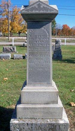 Mary <I>Watt</I> Adams
