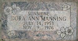 Dora Ann <I>Olson</I> Manning