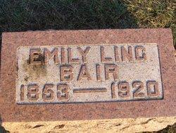 Emily <I>Ling</I> Bair