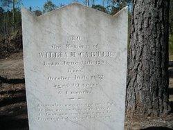Pvt William Carter