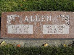 Reda <I>Ricks</I> Allen