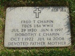 Dorothy Elda <I>Riordan</I> Chapin