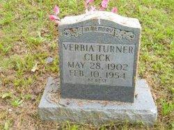 Verbia H. <I>Turner</I> Click