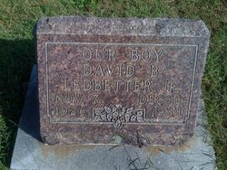 David B. Ledbetter, Jr