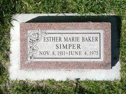 Esther <I>Baker</I> Bird