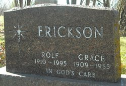 Grace Lillian <I>Jorgenson</I> Erickson