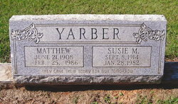 Susie May <I>Cook</I> Yarber