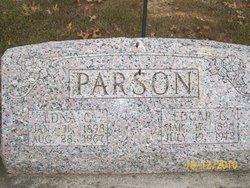 Edna Geneva <I>Edgerton</I> Parson