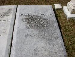 Mary Monroe <I>Harlan</I> Bagley