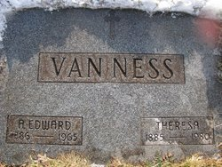 Theresa <I>Knaus</I> VanNess
