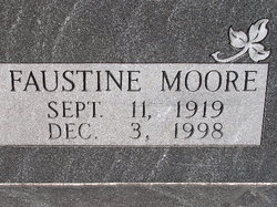 Maggie Faustine <I>Spangler</I> Montgomery Moore